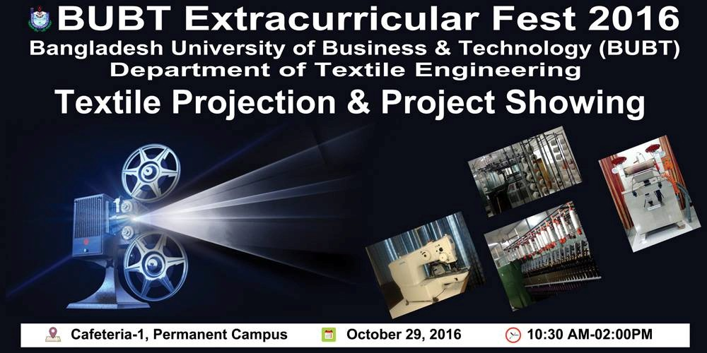 Textile Projection & Project Showing